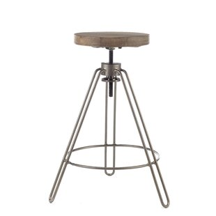 Review Lester Height Adjustable Bar Stool