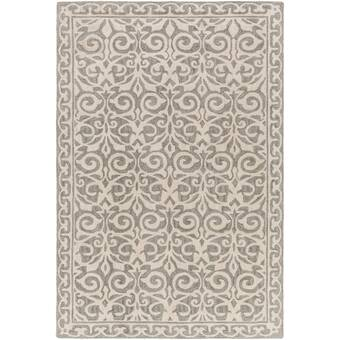 East Urban Home Home Sweet Erie Gray Area Rug Wayfair