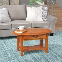 Solid Wood Charlton Home Coffee Tables You Ll Love In 2021 Wayfair