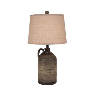 Layden 1-Handle Pottery Jug 28 Table Lamp