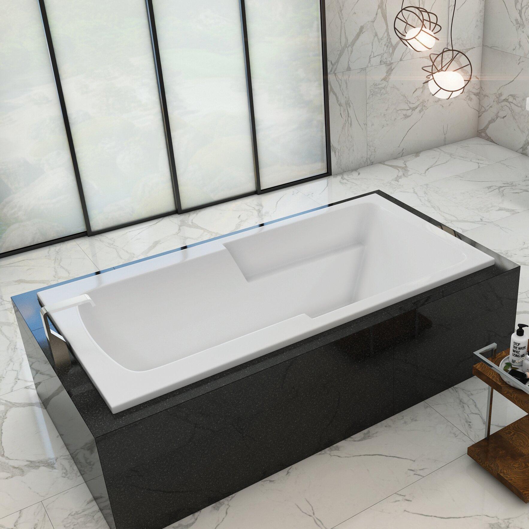 Americh Madison 66 X 34 Drop In Air Bathtub Wayfair