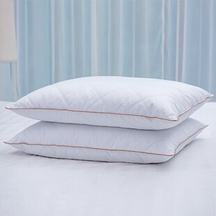 Sirius Goose Firm Down and Feathers Bed Pillow (Set of 2)