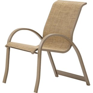 Aruba Stacking Patio Dining Chair (Set of 4)