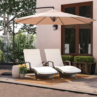 Cantillo 10' Cantilever Umbrella by Darby Home Co Great Reviews
