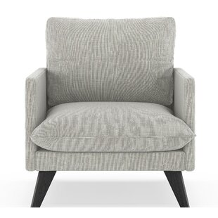 Covarrubias Twilled Weave Armchair by Corrigan Studio