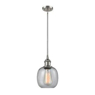 Ivy Bronx Raye 1-Light Globe Pendant