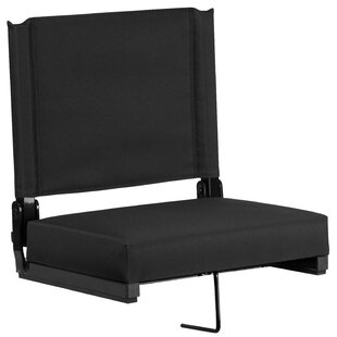 Aubine Folding Stadium Seat with Cushion