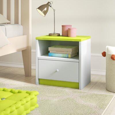 Nachttisch Caswell mit Schublade | Schlafzimmer > Nachttische | Mdf - Vi | Roomie Kidz
