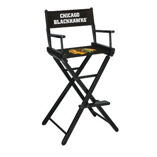 NHL Bar Folding Directors Chair