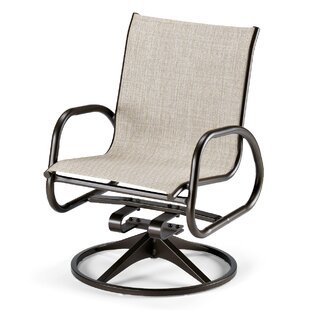 Gardenella Swivel Patio Dining Chair (Set of 2)