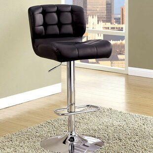 Jaylee Adjustable Height Swivel Bar Stool