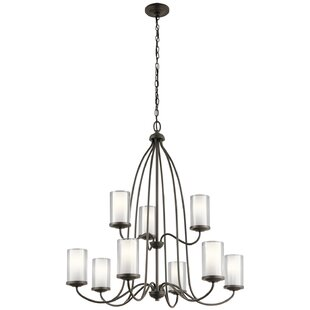 Red Barrel Studio Vanover 9-Light Shaded Chandelier