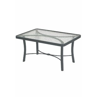 Banchetto Glass Coffee Table by Tropitone