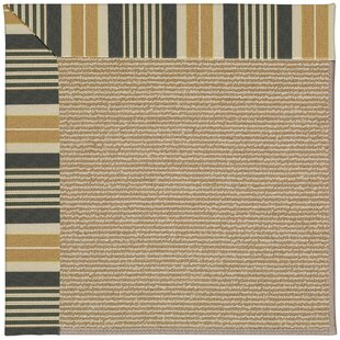 Lisle Black Indoor/Outdoor Area Rug