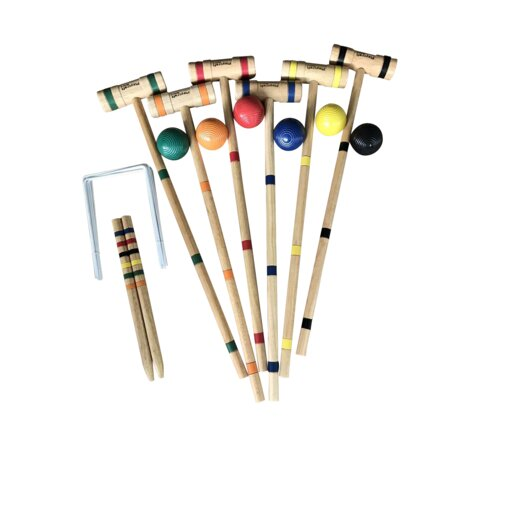 Sport Deluxe Wood Croquet Set