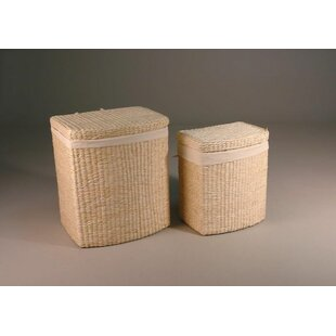 Laundry Basket Set (Set Of 2) By Beachcrest Home