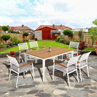 Rumfelt 7 Piece Dining Set with Cushions ..