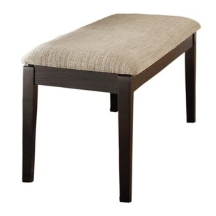 Violet Upholstered Bench by Alcott Hill