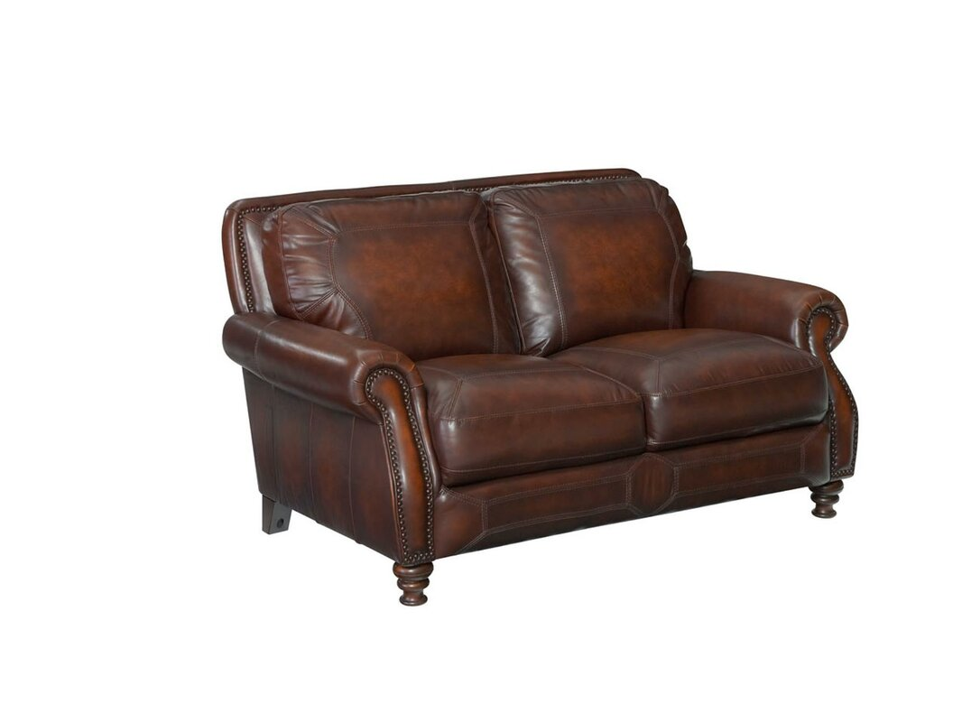 p alwin leather decorators collection home loveseat chocolate italian sofas loveseats