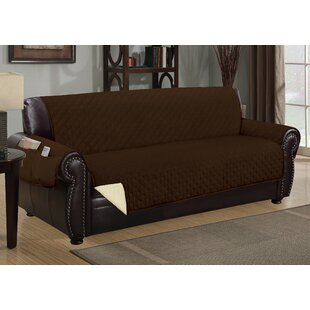 Deluxe Hotel Box Cushion Sofa Slipcover Winston Porter