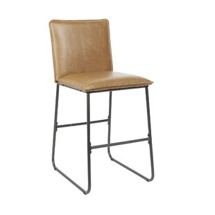 Seifert Exposed Frame Square Back 24 Bar Stool by Williston Forge