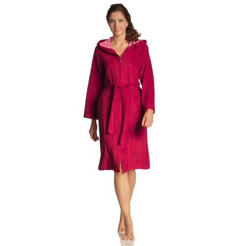Bademantel Palermo Vossen Größe: Extra Large (XL)| Farbe: Cranberry | Bad > Sauna & Zubehör | Vossen