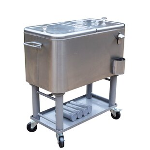 60 Qt. Stainless Steel Party Cooler
