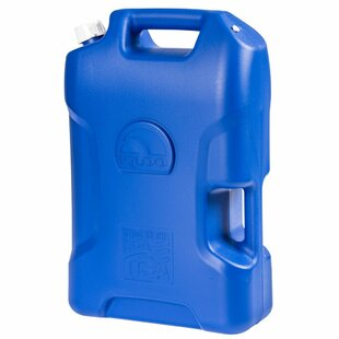 6 Gallon Polyethylene Water Container Cooler