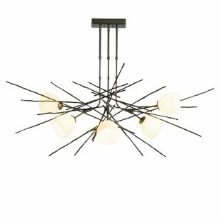 Hubbardton Forge Griffin 6-Light Sputnik Chandelier