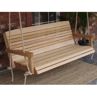 Gemma Cedar Rope Porch Swing
