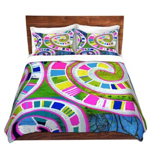 Seifert Robin Mead Round And Round Microfiber Duvet Covers