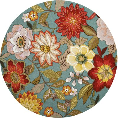 Floral Amp Plant Round Area Rugs You Ll Love In 2019 Wayfair