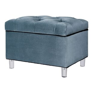 Mineo Tufted Storage Ottoman by Rosdorf Park