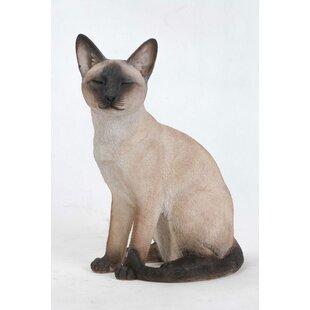 Life Size Siamese Cat Statue Wayfair