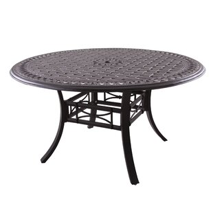 Darby Home Co Greenwald Metal Frame Dining Table