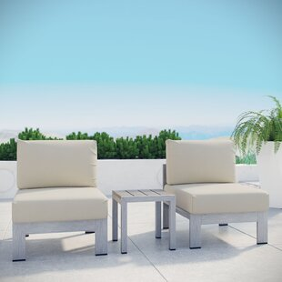 Orren Ellis Coline 3 Piece Outdoor Patio ..