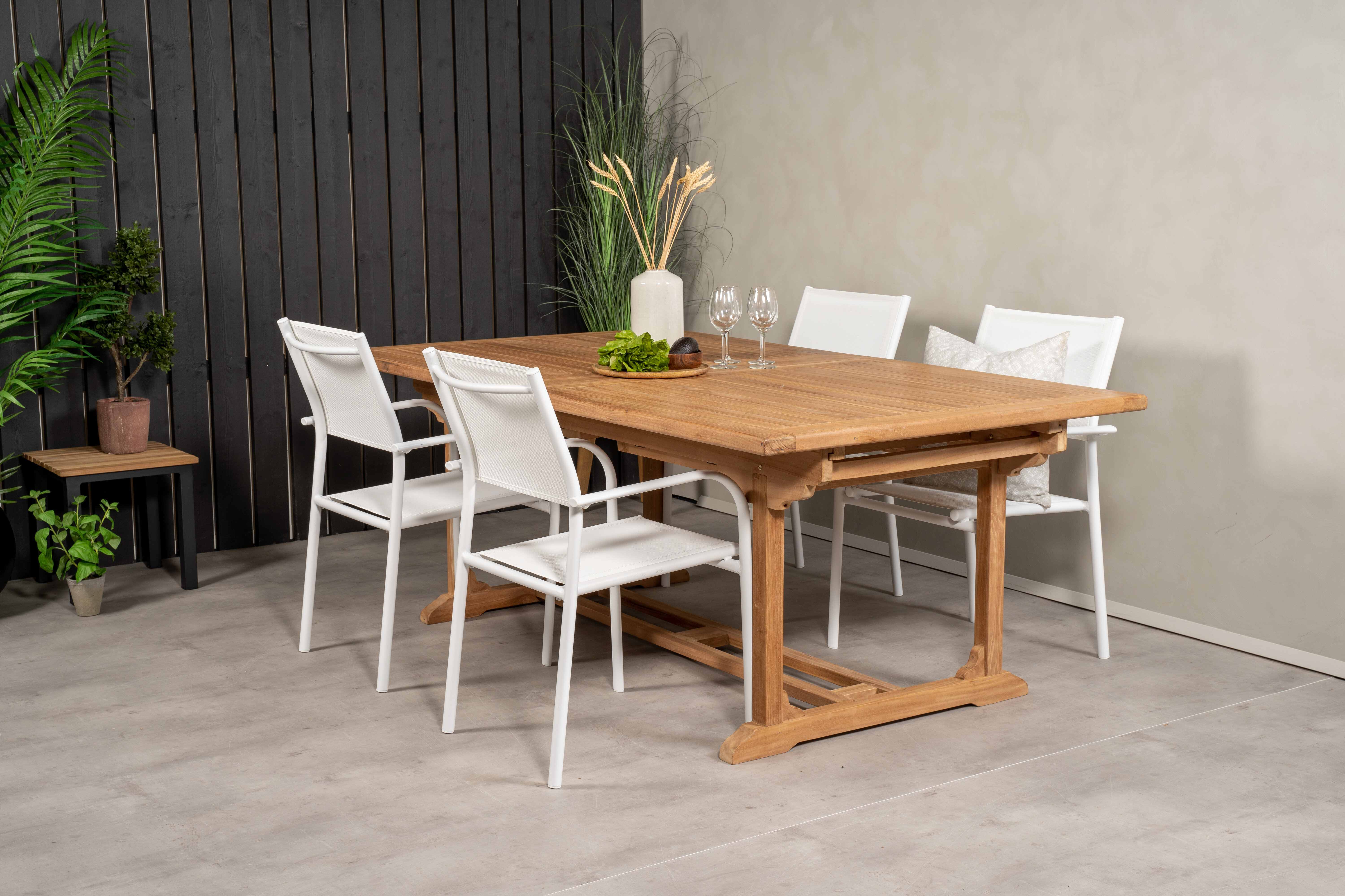 Sol 72 Outdoor Baek 4 Seater Dining Set Wayfair Co Uk