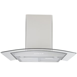"30"" 410 CFM Ducted Wall Mount Range Hood by Trifecte Best Design"