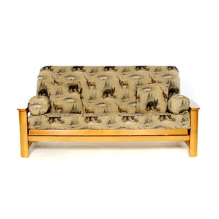 Woodlands Box Cushion Futon Slipcover