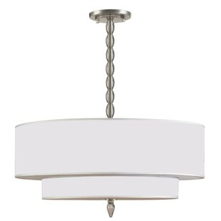 Winston Porter Stauffer 5-Light Drum Pendant