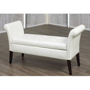 Florez Upholstered Storage Bench by Darby Home Co