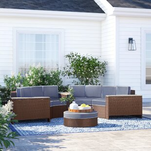 Bermuda 8 Piece Sectional Set with Cushions