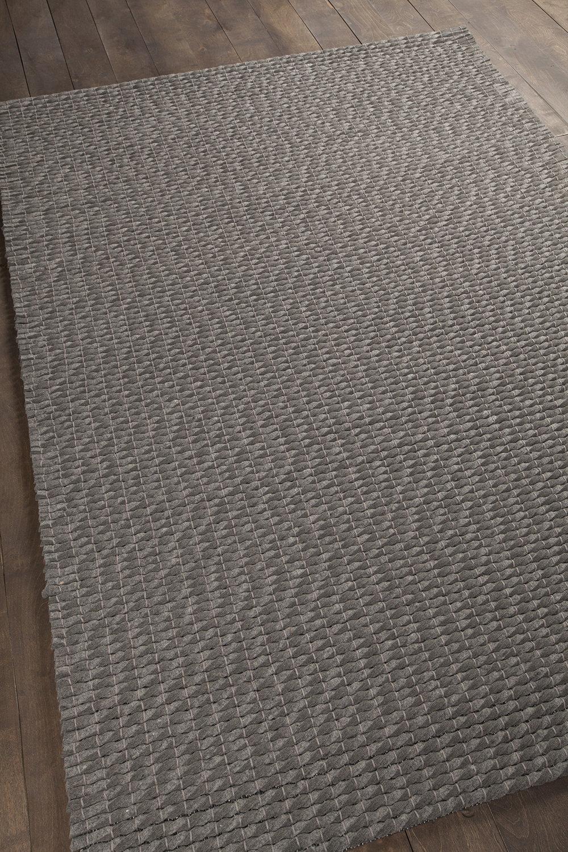 Orren Ellis Leff Hand Woven Gray Area Rug Wayfair