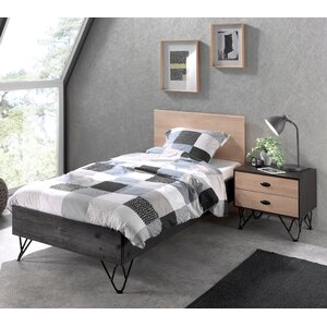 2-tlg. Schlafzimmer-Set William, 90 x 200 cm von..