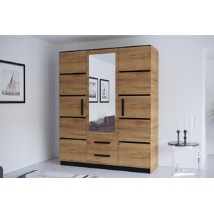 Cannes 3 Door Corner Wardrobe By Ebern Designs