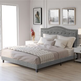 Poindexter Classic Upholstered Sleigh Bed by Red Barrel Studio