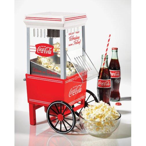Nostalgia Coca-Cola Series Popcorn Maker