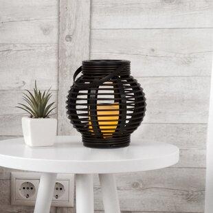 Great choice Rattan Plastic Lantern By Bloomsbury Market