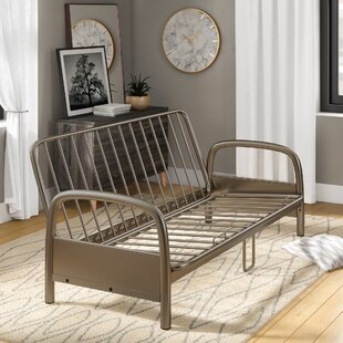 Metal Futon Frame by Ebern Designs