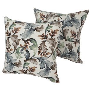 Ertha Outdoor Throw Pillow (Set of 4)